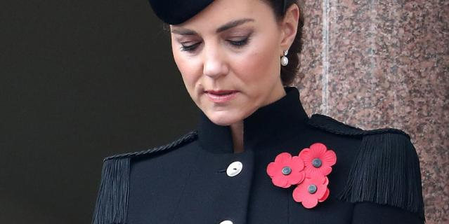 День поминовения павших в Британии. Кейт Миддлтон.