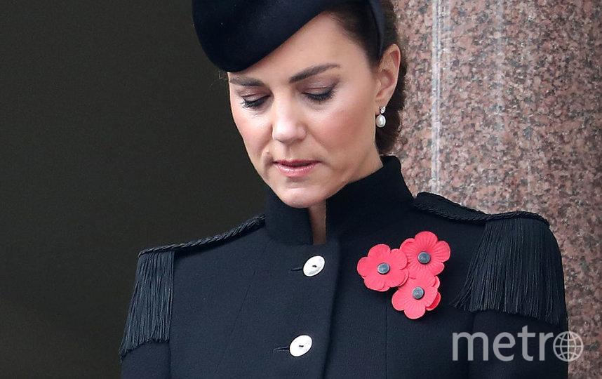 День поминовения павших в Британии. Кейт Миддлтон. Фото Getty