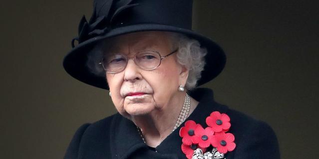День поминовения павших в Британии. Королева Елизавета II.