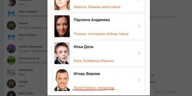 В фильме реальные персонажи получили псевдонимы.