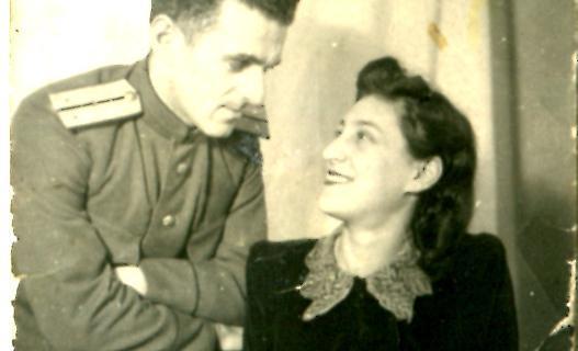 Вера и Авраам стали родителями в марте 1943 года.