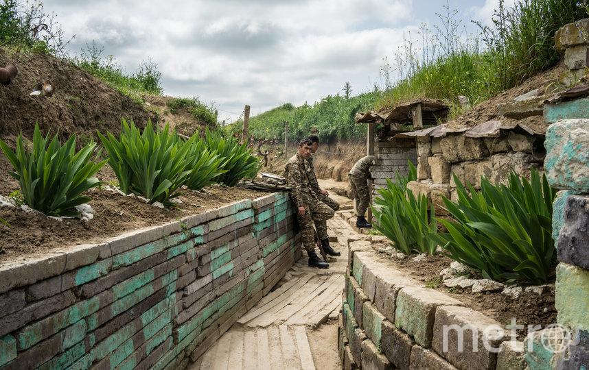 Военные действия велись с 27 сентября. Фото Getty.