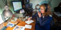 Петербургский метрополитен провел юбилейный радиоэфир с борта ледокола