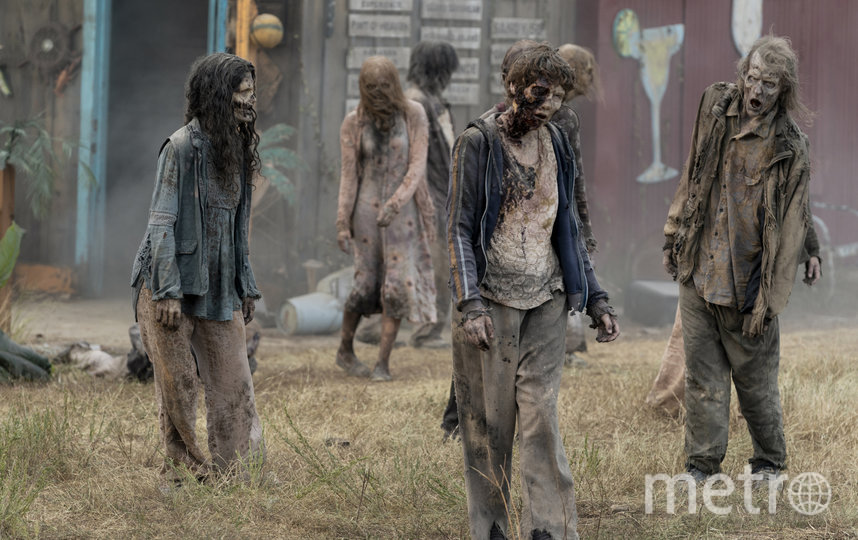 Ходячие мертвецы, как всегда, прекрасны. Фото AMC
