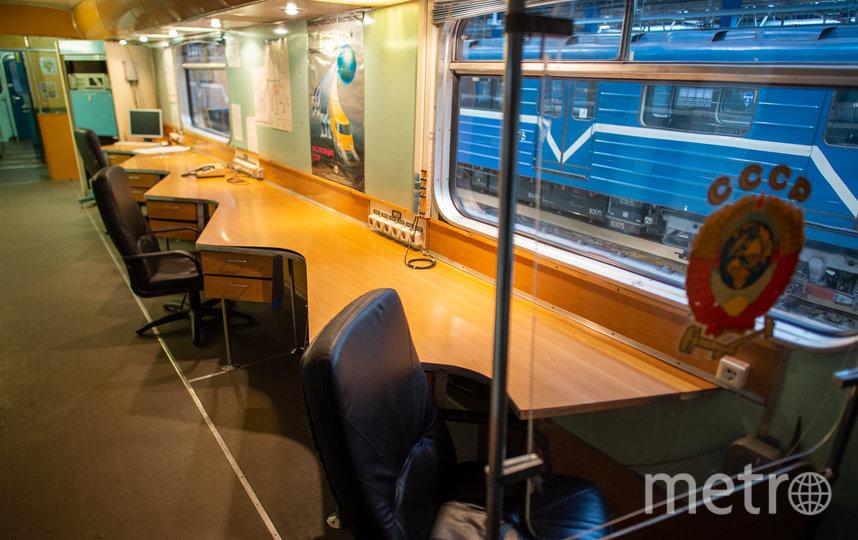"""Так выглядит вагон-лаборатория. Фото Святослав Акимов, """"Metro"""""""