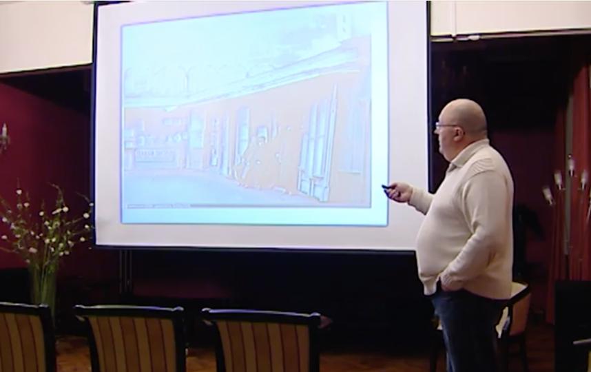 Кадр трансляции лекции об истории Москвы. Фото mos.ru