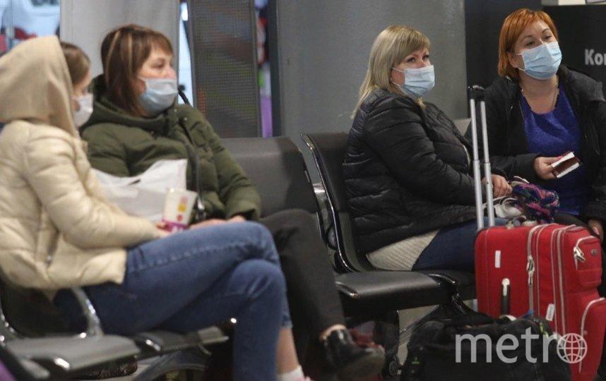 Пассажиров Ладожского вокзала проверили на наличие СИЗ. Фото gov.spb.ru/gov/otrasl.