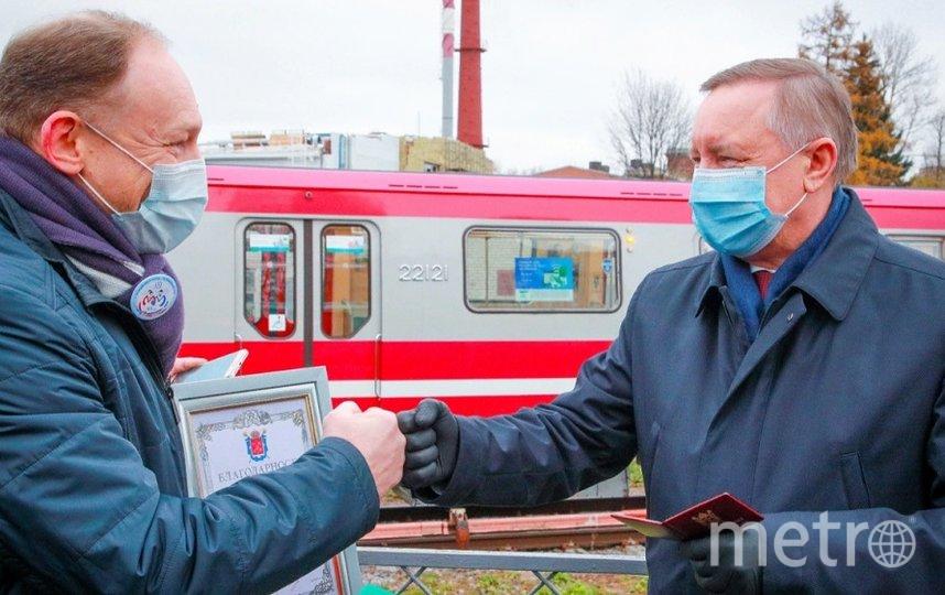 До назначения на этот пост Евгений Козин исполнял обязанности руководителя этого предприятия. Фото gov.spb.ru.
