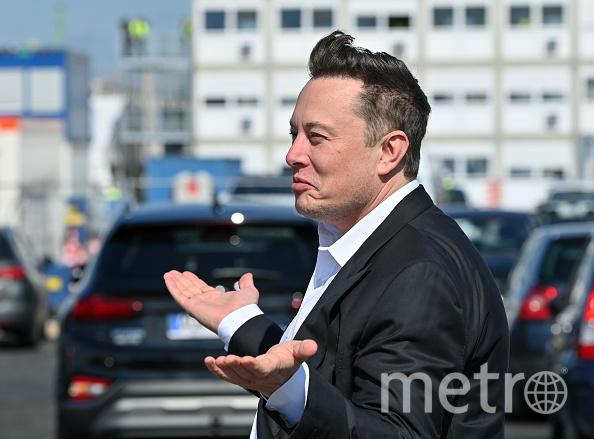 Илон Маск решил сдать анализ из-за симптомов простуды. Фото Getty.