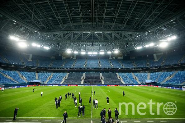 В Петербурге состоятся три матча групповой стадии и один четвертьфинал. Фото Getty.