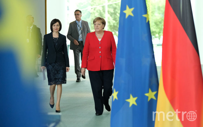 Майя Санду и Ангела Меркель. Фото архив, Getty