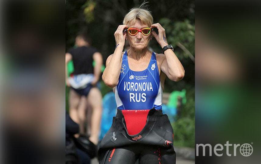 Людмила Воронова, титулованный триатлет-любитель. Фото Антон Уницын
