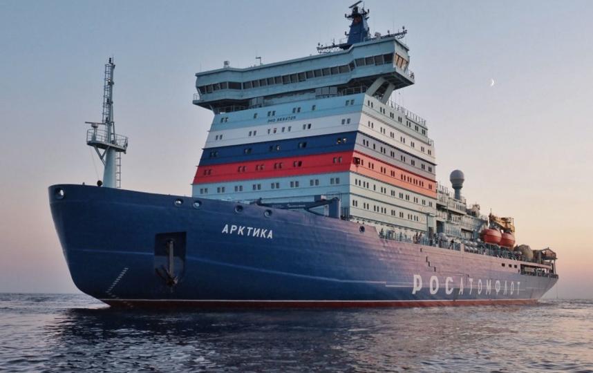 "Атомный ледокол ""Арктика"". Фото https://iceberg.org.ru/portfolio/ledokol-arktika/"