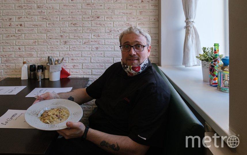 "Джанни Тицци готовить научила бабушка. Свою первую пиццу он приготовил в 9 лет. Фото Алена Бобрович, ""Metro"""
