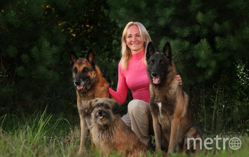 Полина и ее собаки. Фото все фото предоставлены РКФ и Полиной Ильиной