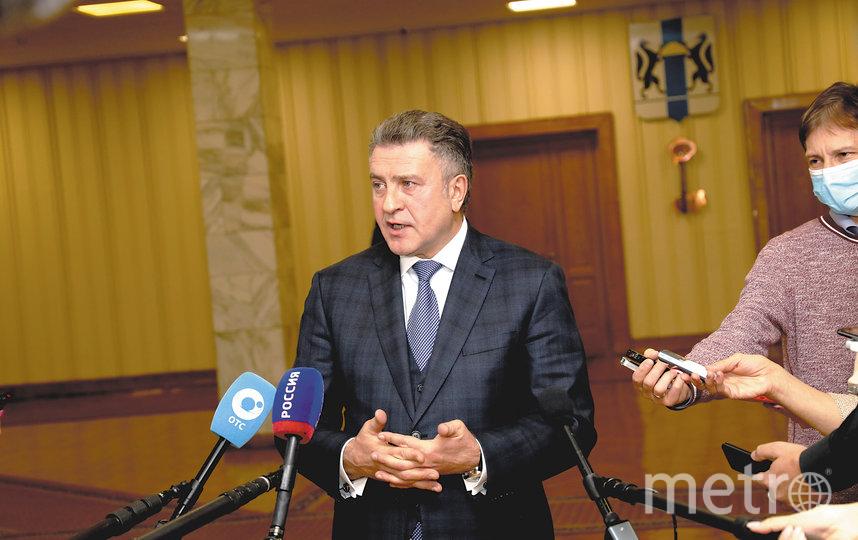 Председатель Законодательного Собрания НСО Андрей Шимкив.