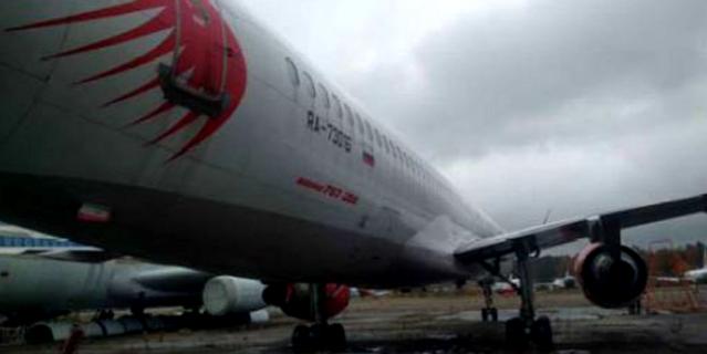 Пассажирский авиалайнер Boeing-757.