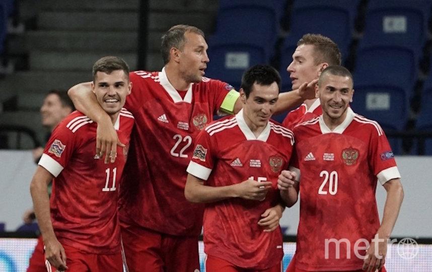 В домашнем матче с сербами 3 сентября сборная России победила – 3:1. Фото Александр Вильф, РИА Новости