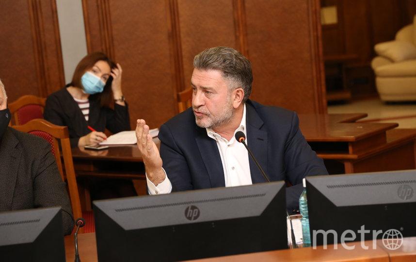 Андрей Шимкив, председатель Законодательного собрания НСО.
