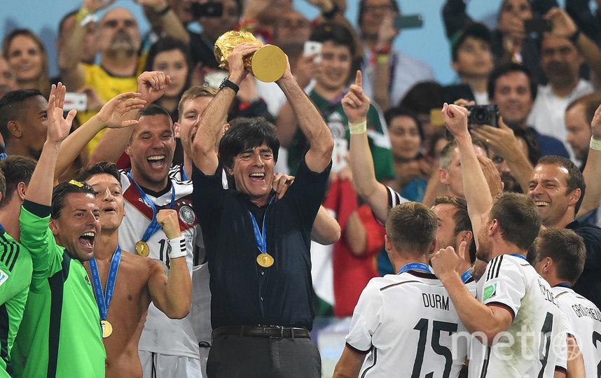 В полуфинале Чемпионата мира-2014 команда унижает хозяев турнира – 7:1, а в решающем поединке одолевает их соседей аргентинцев во главе с Месси. Фото Getty