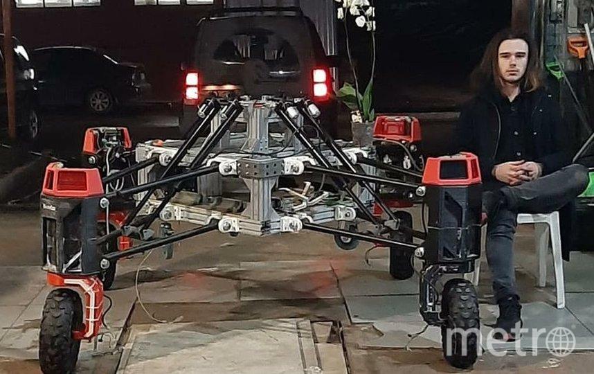 Siberian Tiger – робот для помощи в сельском хозяйстве. Фото предоставлены Пресс-службой RUkami и героями публикации