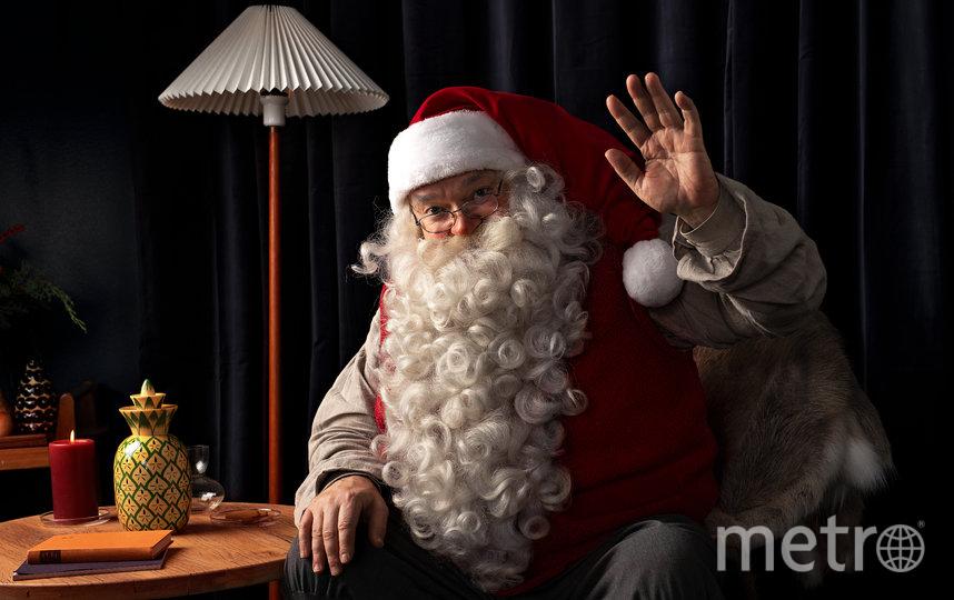 """В преддверии Рождества и Нового года Visit Finland запустил акцию """"Привет от Санта-Клауса"""". Фото Предоставлено организаторами"""