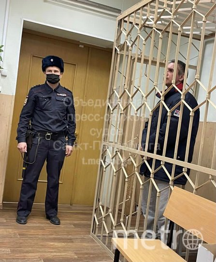 Фото из зала суда. Фото Объединенная пресс-служба судов Петербурга.