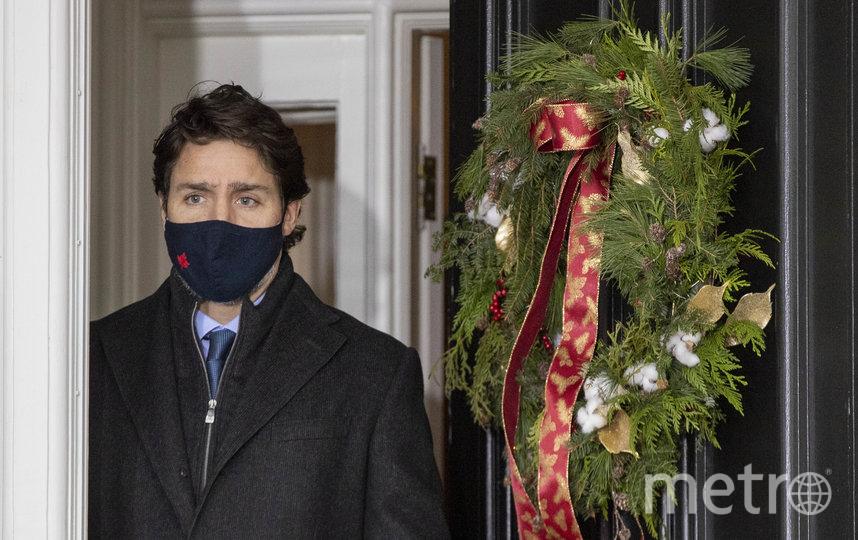 Премьер-министр Канады Джастин Трюдо. Фото AFP