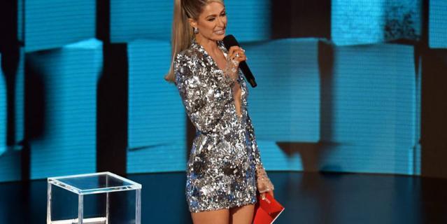 Звезды на American Music Awards.