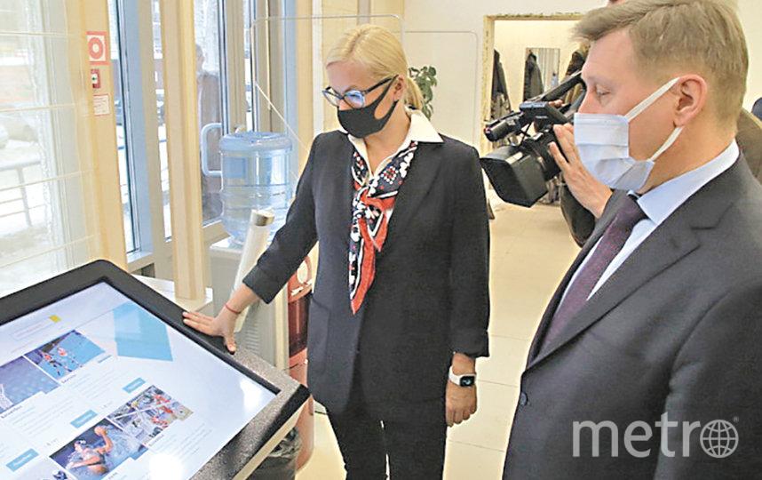 Библиотека стала первой модельной в городе. Иными словами, на неё будут равняться в других читальных залах. Фото Павел Комаров, nsknews.info