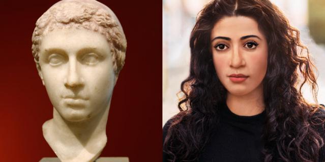 Так в XXI веке выглядела бы древнеегипетская красавица Клеопатра.
