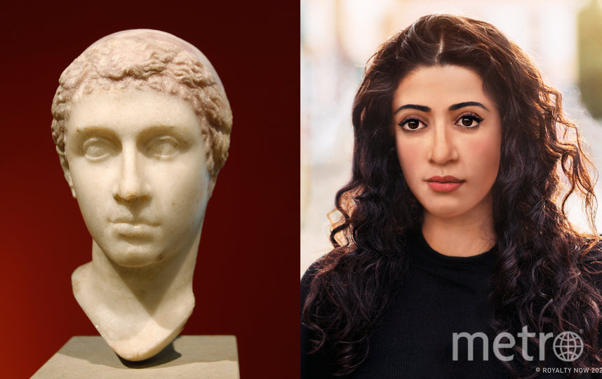 """Так в XXI веке выглядела бы древнеегипетская красавица Клеопатра. Фото предоставлены автором проекта Royalty Now, """"Metro"""""""