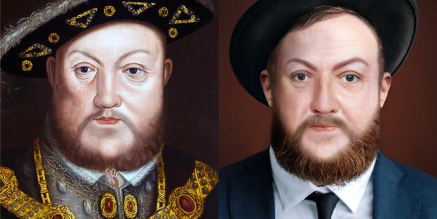 А это Генрих VIII.