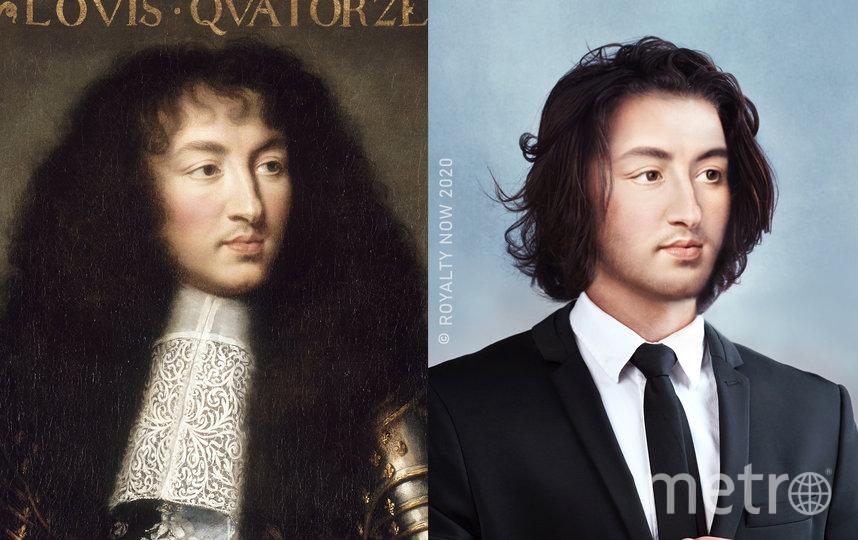 """Луи XIV. Фото предоставлены автором проекта Royalty Now, """"Metro"""""""