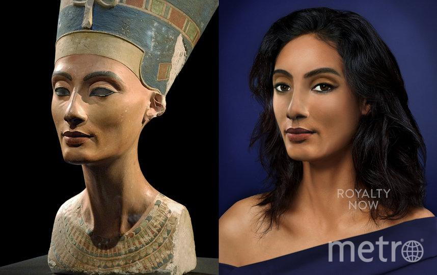 """Нефертити, скорее всего, покорила бы Instagram. Фото предоставлены автором проекта Royalty Now, """"Metro"""""""