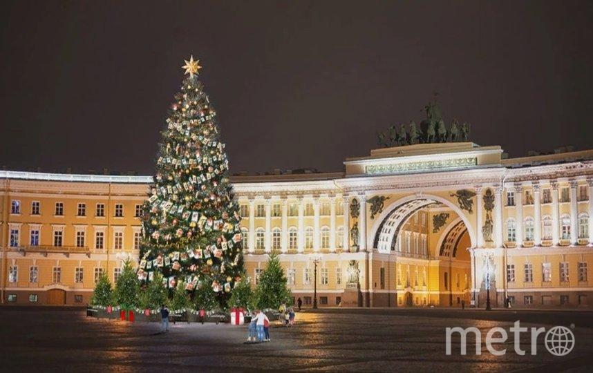 Главная новогодняя елка Петербурга предстанет в ретро-стиле. Фото Комитет по печати и взаимодействию со СМИ.