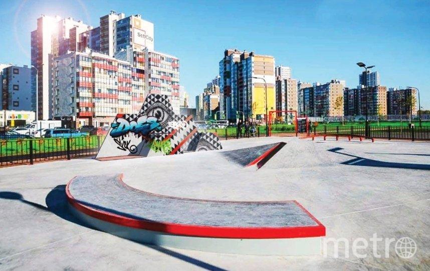 Мобильная конструкция для размещения арт-объектов. Фото Комитет по градостроительству и архитектуре.