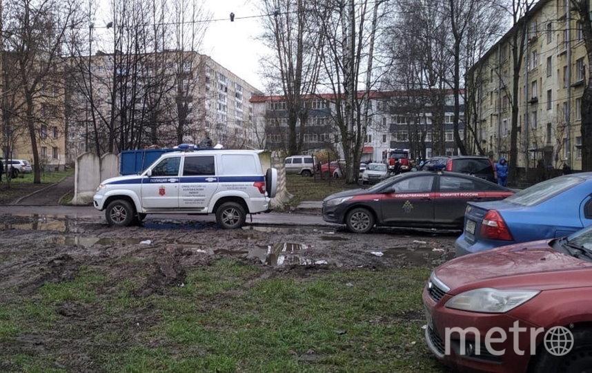 Место происшествия. Фото Фото: vk.com/avto.kolpino.