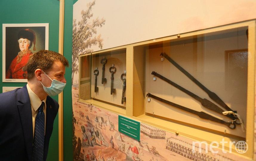 Большинство экспонатов впервые привезены в Москву из Мемориального музея Суворова в Санкт-Петербурге. Фото Василий Кузьмичёнок