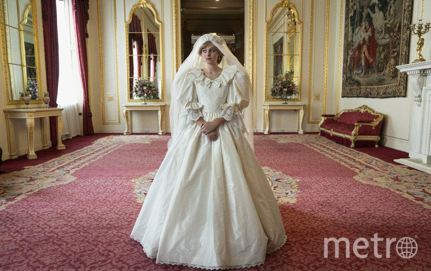 Принцесса Диана в сериале. Фото Кадр из фильма, Getty