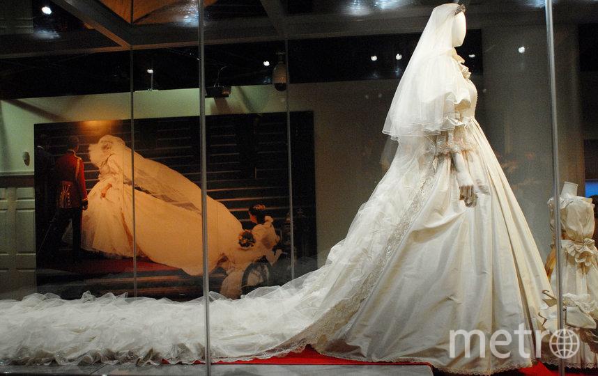Реальное платье Дианы. Фото Getty