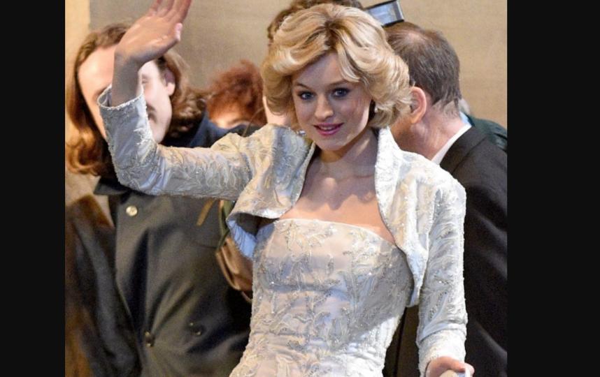 Принцесса Диана в сериале. Фото Кадр из фильма