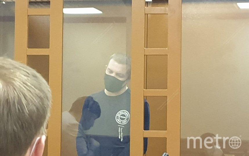 Мужчину, захватившего детей в заложники, отправили под арест. Фото Объединенная пресс-служба судов Петербурга.