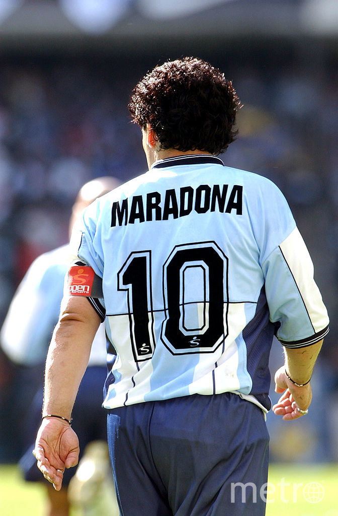 Диего Марадона, 2001 год. Фото Getty