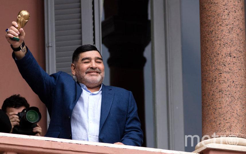 Диего Марадона. Фото Getty