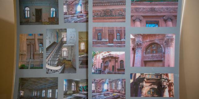 Такой была Библиотека, когда в неё вошли реставраторы.