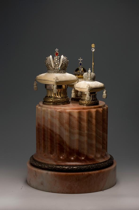Копия императорских регалий. Фото https://www.hermitagemuseum.org