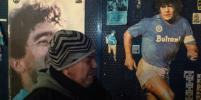 Что происходит в Неаполе после смерти Марадоны: как оплакивают футболиста - фото