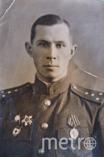 """Конец войны. Офицер Поздняков. Фото из архива семьи Поздняковых, """"Metro"""""""