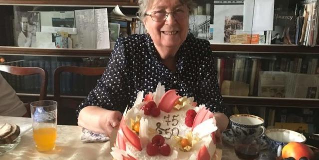Наталья Николаевна стала учителем истории. В этом году она отметила 75-летие.